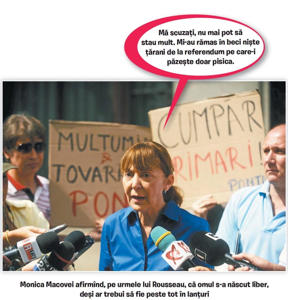 """Monica Macovei: """"Nu îmi voi trăda poporul"""""""
